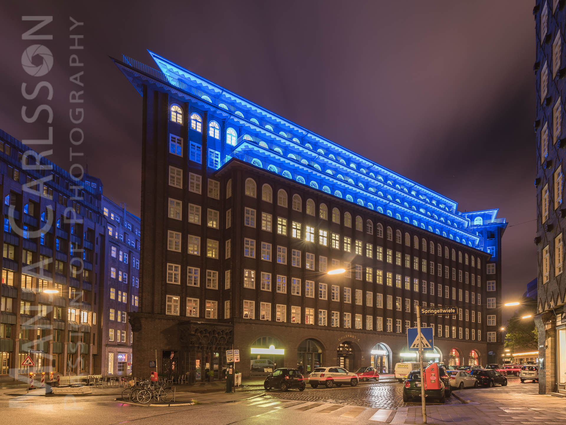 Chilehaus (Kontorhaus in Hamburg) - Blue Port 2017