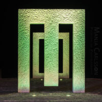 Puerta sin puerta (Kan Yasuda) in Garachico – grünes Licht in F